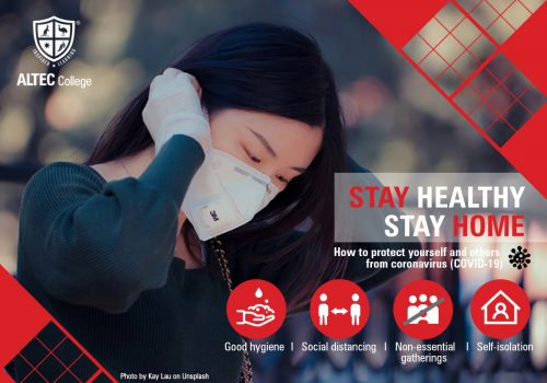 Stay Healthy Banner