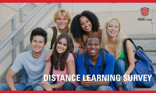 Distance Learning Survey Banner